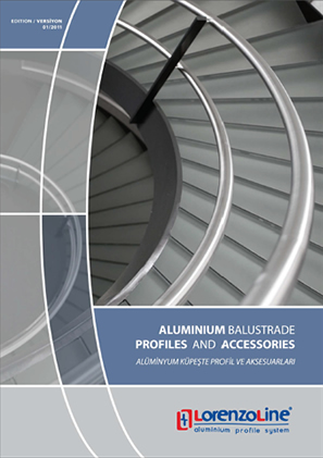 Balustrade Alumininum and Profiles Accessories