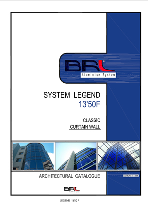 LEGEND13-50F CLASSIC CAPED CURTAIN WALL SYSTEM