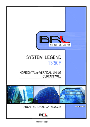 LEGEND 13-50F SEMI CAPED CURTAIN WALL SYSTEM